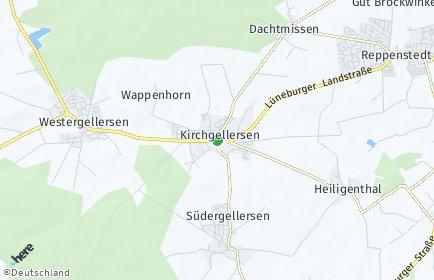 Stadtplan Kirchgellersen