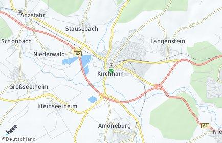 Stadtplan Kirchhain