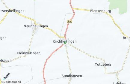 Stadtplan Kirchheilingen