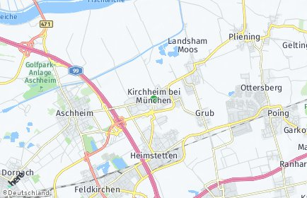 Stadtplan Kirchheim bei München