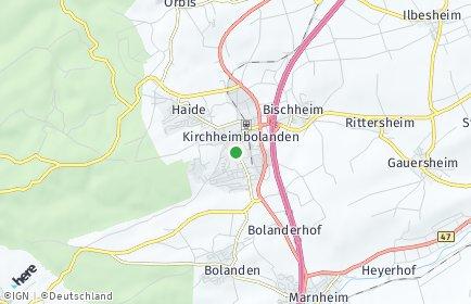 Stadtplan Kirchheimbolanden