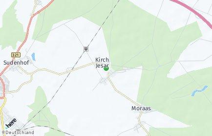 Stadtplan Kirch Jesar
