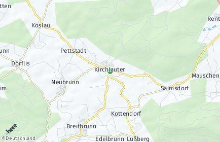Stadtplan Kirchlauter
