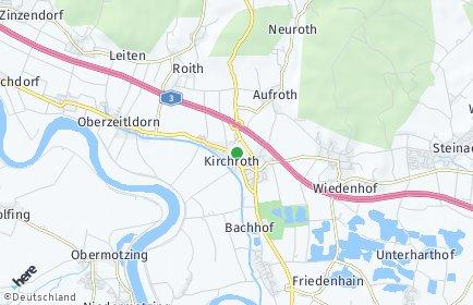 Stadtplan Kirchroth