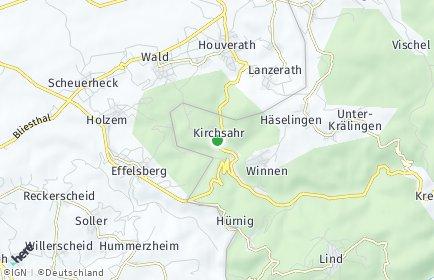 Stadtplan Kirchsahr
