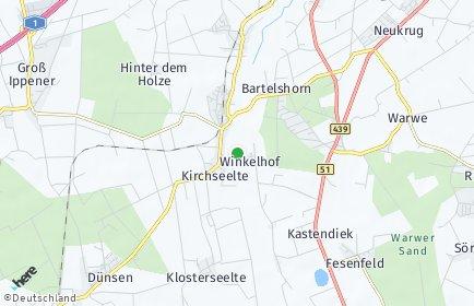 Stadtplan Kirchseelte