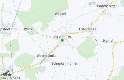 Stadtplan Kirchtimke