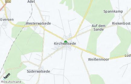 Stadtplan Kirchwalsede
