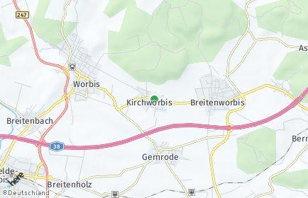 Stadtplan Kirchworbis