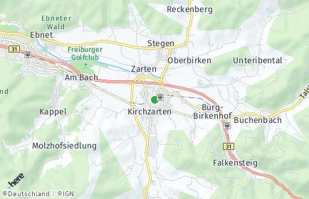 Stadtplan Kirchzarten