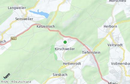 Stadtplan Kirschweiler