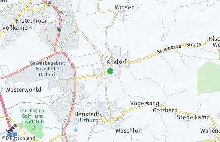 Stadtplan Kisdorf