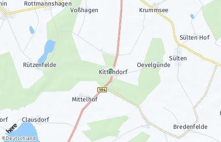 Stadtplan Kittendorf