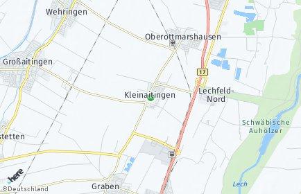 Stadtplan Kleinaitingen