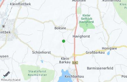 Stadtplan Klein Barkau