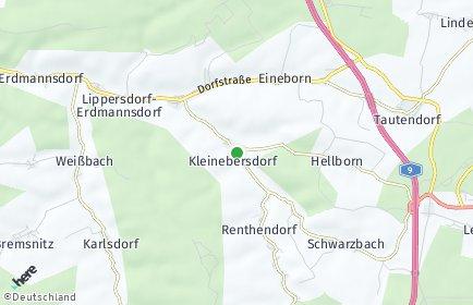 Stadtplan Kleinebersdorf
