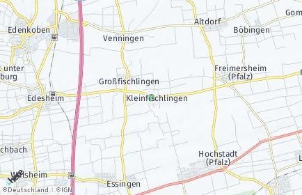 Stadtplan Kleinfischlingen