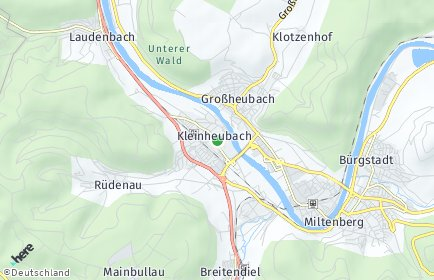 Stadtplan Kleinheubach