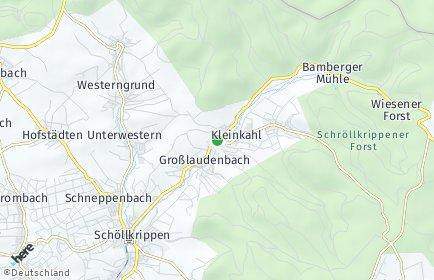 Stadtplan Kleinkahl