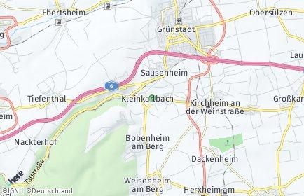 Stadtplan Kleinkarlbach