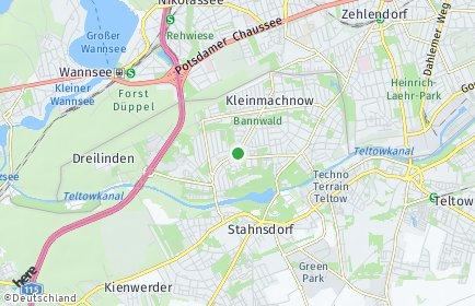 Stadtplan Kleinmachnow