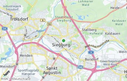 Stadtplan Rhein-Sieg-Kreis