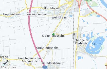 Stadtplan Kleinniedesheim