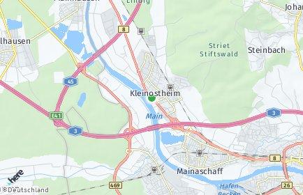 Stadtplan Kleinostheim