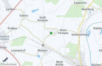 Stadtplan Klein Pampau