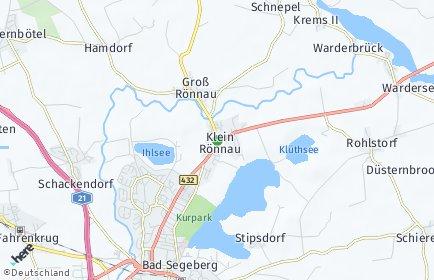 Stadtplan Klein Rönnau