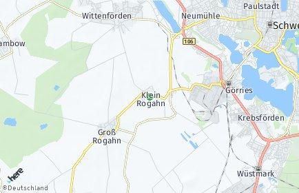 Stadtplan Klein Rogahn