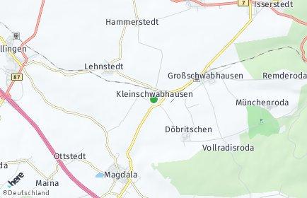 Stadtplan Kleinschwabhausen