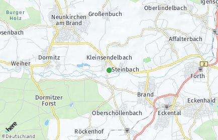 Stadtplan Kleinsendelbach
