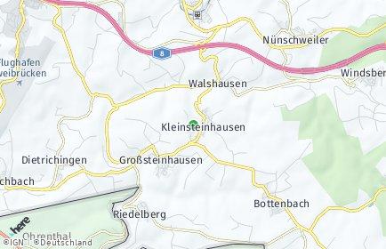 Stadtplan Kleinsteinhausen