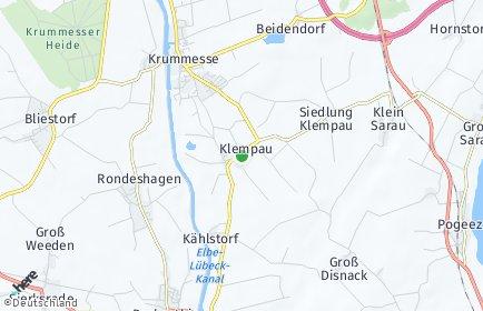 Stadtplan Klempau