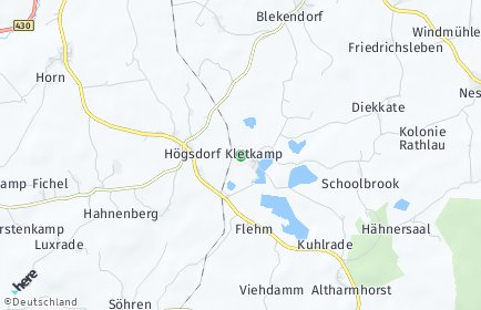 Stadtplan Kletkamp