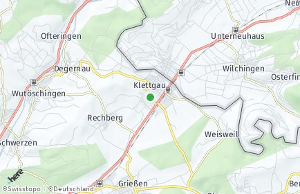 Stadtplan Klettgau