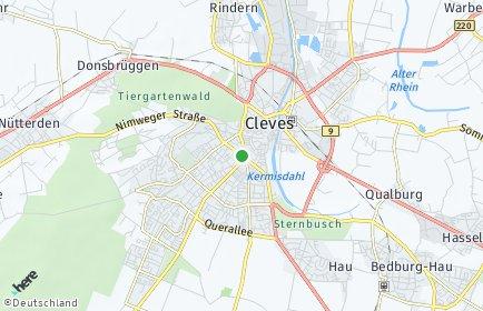 Stadtplan Kleve