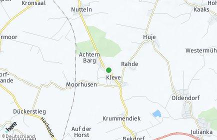 Stadtplan Kleve (Kreis Steinburg)