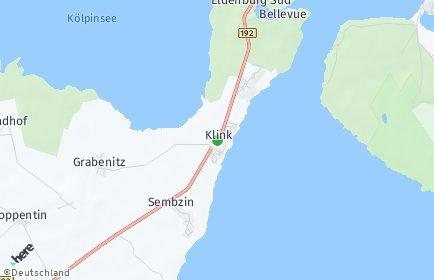 Stadtplan Klink