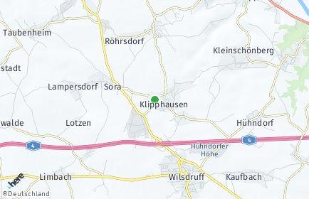 Stadtplan Klipphausen
