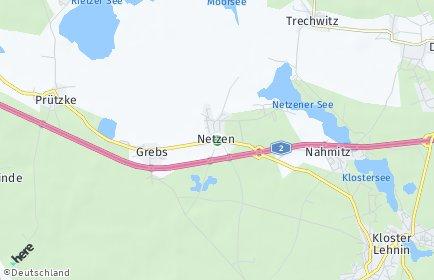 Stadtplan Kloster Lehnin