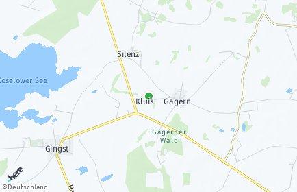 Stadtplan Kluis