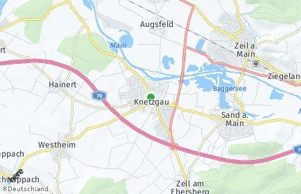 Stadtplan Knetzgau