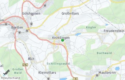 Stadtplan Knittlingen