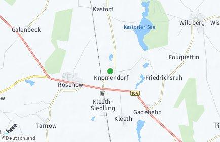 Stadtplan Knorrendorf