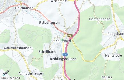 Stadtplan Knüllwald