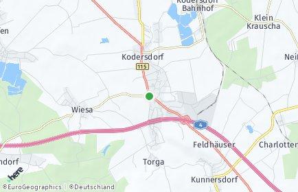 Stadtplan Kodersdorf