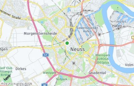 Stadtplan Rhein-Kreis Neuss