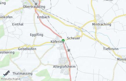 Stadtplan Köfering